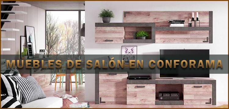Muebles de salón en Conforama